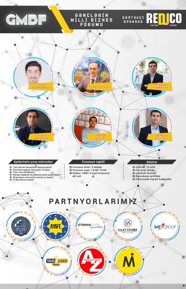 gənclərin milli biznes forumu