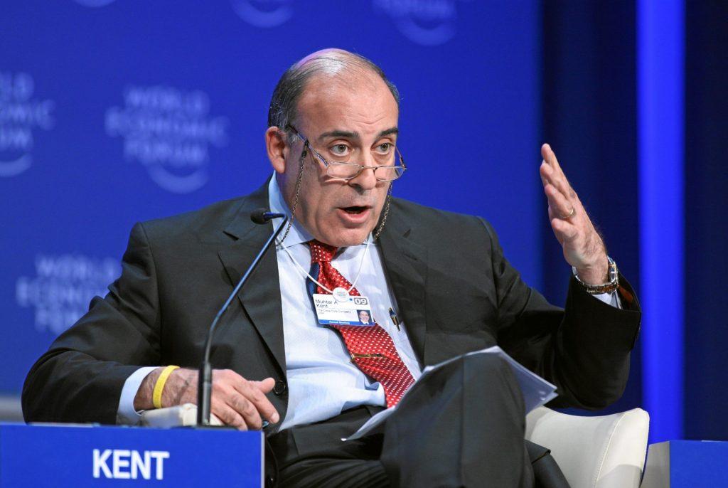 Coca Cola CEO'su Muhtar Kent, Davos.