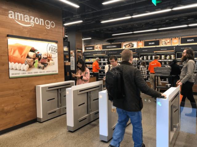 """""""Amazon"""" ağıllı mağazalar üçün əlləri tanıma texnologiyasını patentləşdirib"""